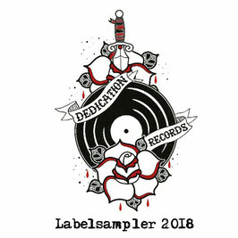 DR012 - CD - Dedication Records - Labelsampler 2018 - CD & Download