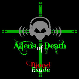 CD - Aliens Of Death - Blood Exude - Out Now