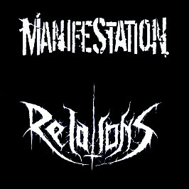 DR048 / DR049 - 7inch / CD  - Manifestation / Relations Split - Preorder - Release Ende Januar 2021