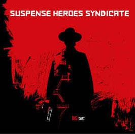 LP - SUSPENSE HEROES SYNDICATE - BIG SHOT (LP) + DLC ltd. colored