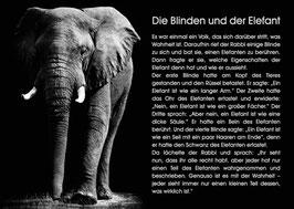 Die Blinden und der Elefant
