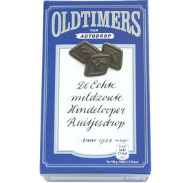 Oldtimers, Hindelooper Salzlakritz, blau