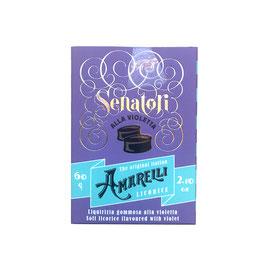 Schachtel: Amarelli Senatori, Veilchen, lila