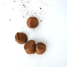 Trüffelschokolade mit Lakritz