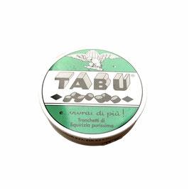 Pastillen_Tabu, pures Lakritz (Zuckerfrei)