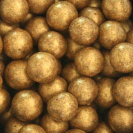 Goldene Schoko-Kugel