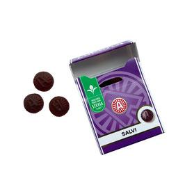 Schachtel: Läkerol Veilchen, Zuckerfrei