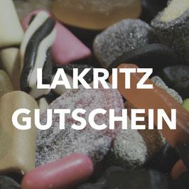 Lakritz Gutschein