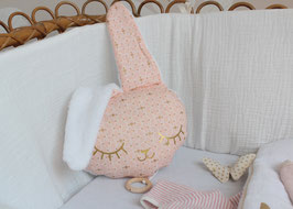 Lapin rose et or