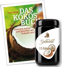 Bio-Öl mit Buch im Set