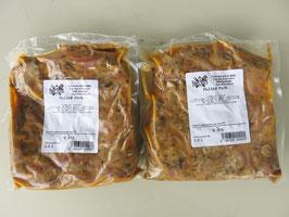 Pulled-Pork für 2-3 Personen