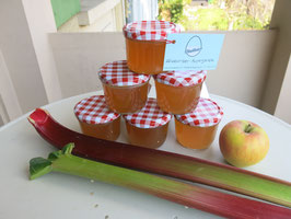 Rhabarber-Apfel-Gelee