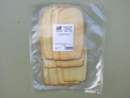 Geräucherter Käse - hauchdünne Scheiben