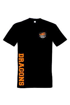 "Basic T-Shirt ""Double Double"" schwarz"