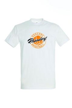 """Basic T-Shirt """"Rhöndorf"""" weiß"""