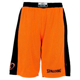 Spalding Essential Reversible Shorts orange/schwarz