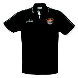 "Spalding Polo Shirt ""Dragons Rhöndorf"" schwarz"