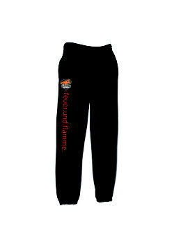 Basic Sweat Pants schwarz/neon