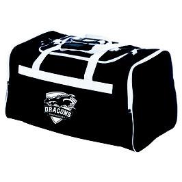 "Spalding Team Bag ""Dragons Rhöndorf"" medium schwarz/weiß"
