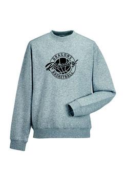 "Premium Sweatshirt ""Rhöndorf"" grau"