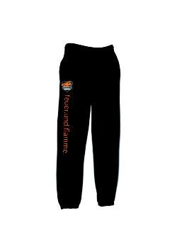 Basic Sweat Pants schwarz/orange