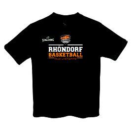 "Spalding Team II T-Shirt ""Rhöndorf Basketball"" schwarz"