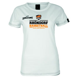 "Spalding Team II T-Shirt 4Her ""Rhöndorf Basketball"" weiß"