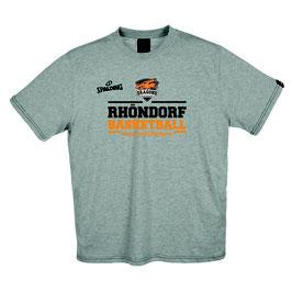 "Spalding Team II T-Shirt ""Rhöndorf Basketball"" grau"