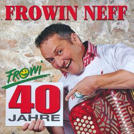 """CD """"40 Jahre Frowi"""" Erschienen 2015"""
