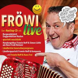 """CD """"FRÖWI live"""" Erschienen 2018"""