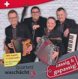 """CD """"rassig & gspassig"""" Erschienen 2016"""