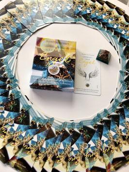 """Mein eigenes Kartenset """"Urkraft der Engel""""® mit Orgonit - Engelsymbol -Pyramide"""
