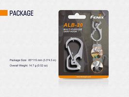 Fenix ALB-20 Multifunktions-Karabinerhaken