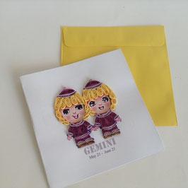 Card Zwillinge