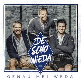 DeSchoWieda - Genau Mei Weda CD