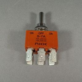 NKK Nikkai zweipoliger Wechselschalter S-7A