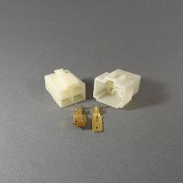 4 poliges Gehäuse 6,3mm