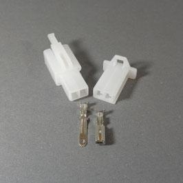 2 poliges Gehäuse 2,8mm