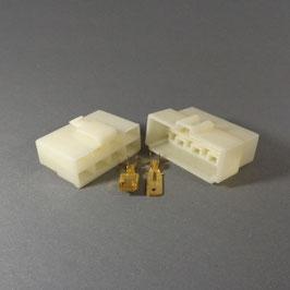8 poliges Gehäuse 6,3mm