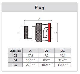 8STA6-04-06P (Pin) / gebraucht