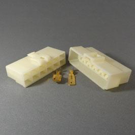 12 poliges Gehäuse 6,3mm