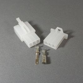 3 poliges Gehäuse 2,8mm