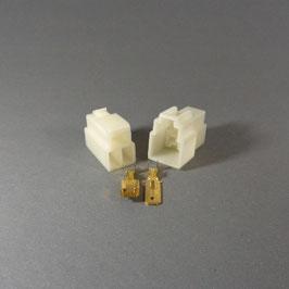 3 poliges Gehäuse 6,3mm