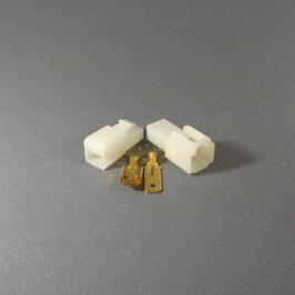 1 poliges Gehäuse 6,3mm