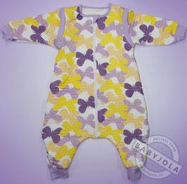 Violette Schmetterlinge | Gr. 74/80