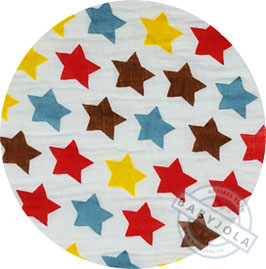 Nuschi | Motiv 2 | farbige Sterne
