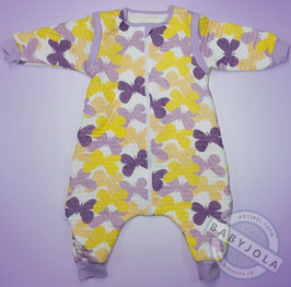 Violette Schmetterlinge