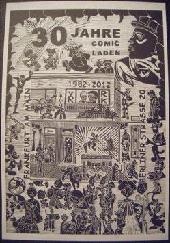 30 Jahre Comicladen Plakat