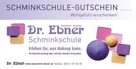 Schminkschule - Gutschein