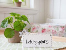 """Holzschild """"Marie"""" - *Lieblingsplatz*"""